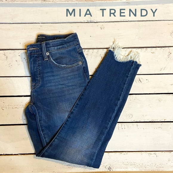 Lucky Brand Distressed Skinny Jeans AVA